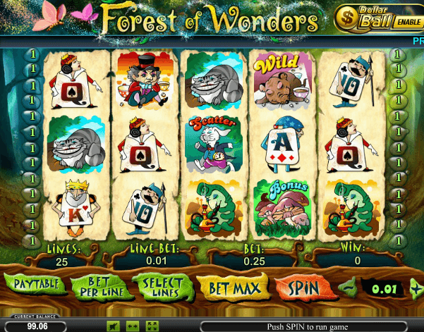 Forest of wonders игровые автоматы медногорск игровые автоматы формула