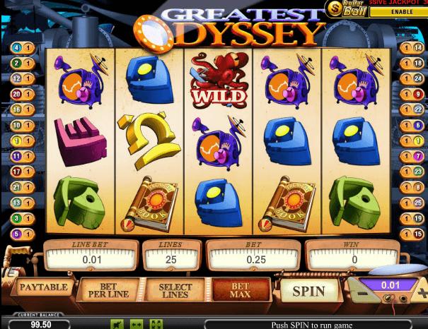 Играть в автомат Greatest Odyssey / Великая Одиссея