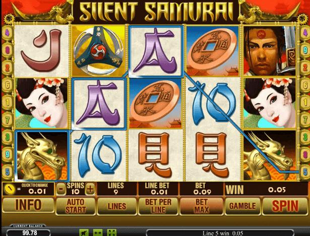 Играть в автомат Silent Samurai