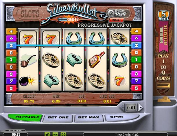 Играть в автомат Silver Bullet / Серебряная пуля