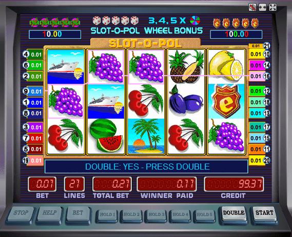 Играть в автомат Slot o Pol / Сло о Пол
