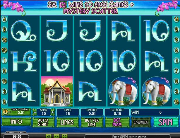 Играть в автомат Thai Paradise / Тайский Рай
