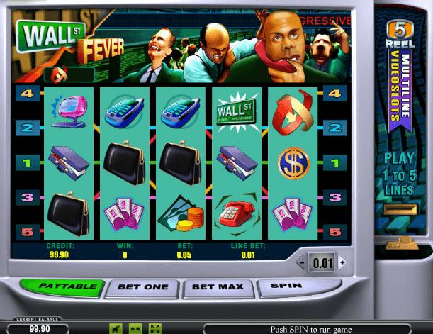 Играть в автомат Wall Street Fever / Уолл-стрит