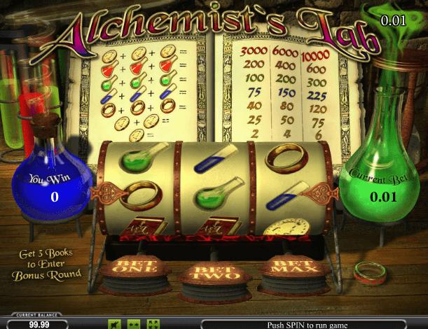 Играть в автомат Alchemists Lab / Лаборатория алхимика
