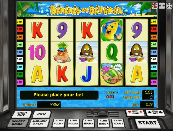 Играть в автомат Bananas go Bahamas / Банана го Багамас