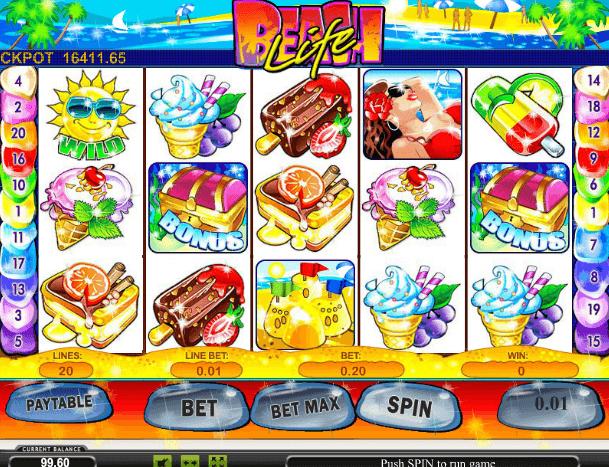 Играть в автомат Beach Life / Пляжная жизнь