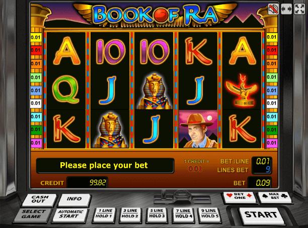 Играть в автомат Book of Ra / Книга Ра