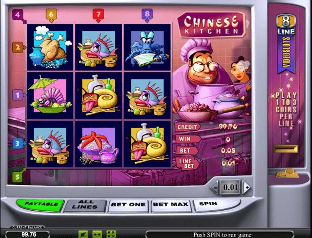Играть в автомат Chinese Kitchen / Китайская Кухня