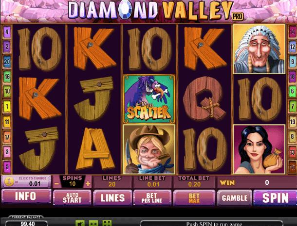 Играть в автомат Diamond Valley Pro / Алмазная долина про