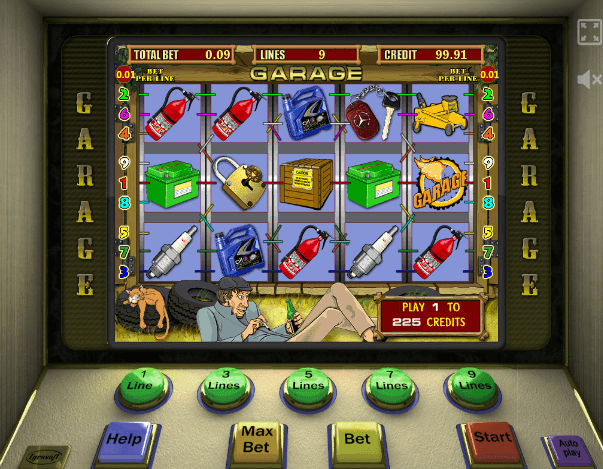 игровые автоматы гараж играть онлайн бесплатно