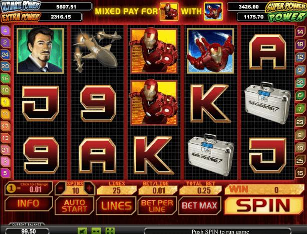 Играть в автомат Iron Man / Железный человек