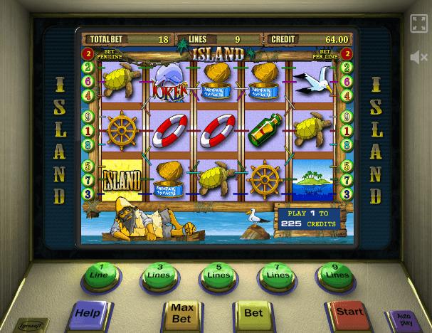 Игровой автомат Остров - невероятная история азарта с Робинзоном Крузо в главной роли.4/5(7).