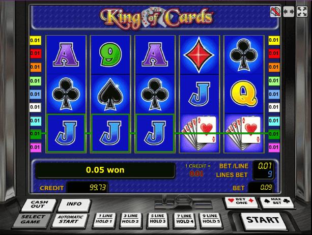Играть в автомат King of Cards / Король Карт