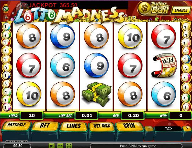 Играть в автомат Lotto Madness / Cумасшедшее лото