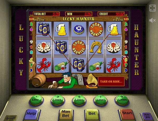 Играть в автомат Lucky Haunter / Пробки