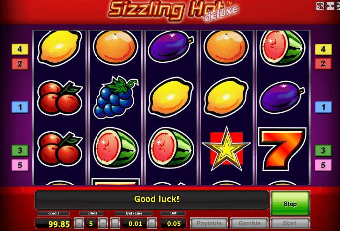 Играть в автомат Sizzling Hot / Сиззлинг Хот