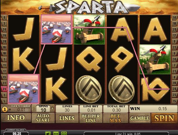 Играть в автомат Sparta / Спарта