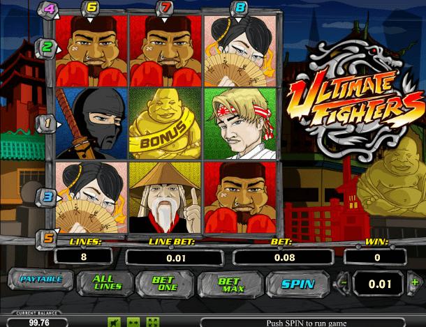 Играть в автомат Ultimate Fighters / Непримиримых Бойцов