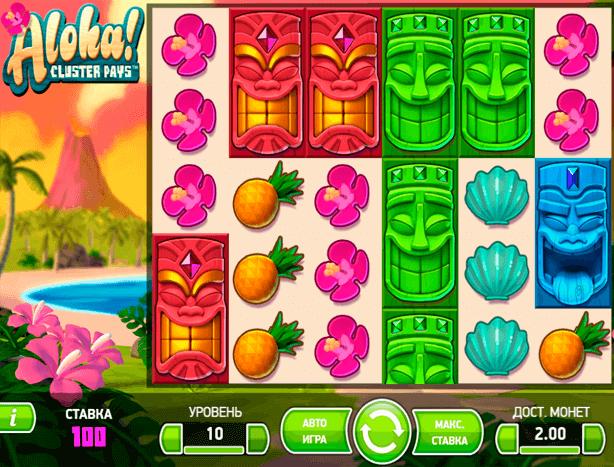 Играть в автомат Aloha / Алоха